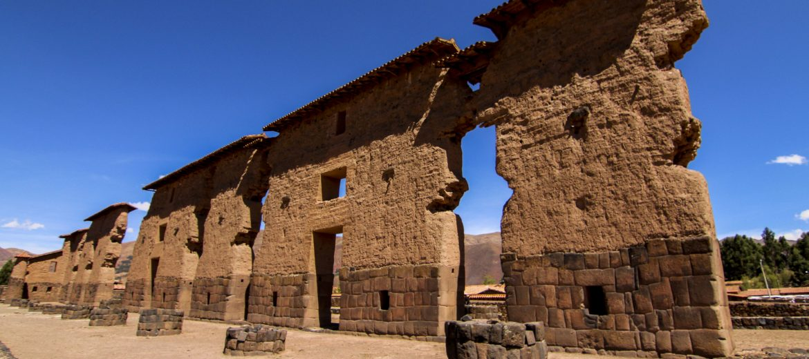 The Raqch'i  - Wiracocha Temple.