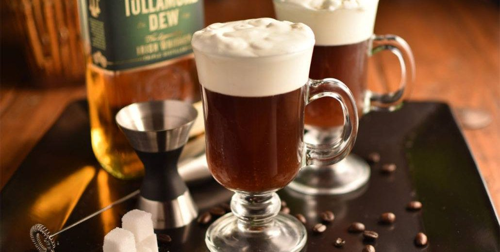 Irish Coffee to warm up