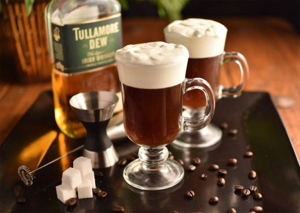 Irish Coffee to warm up